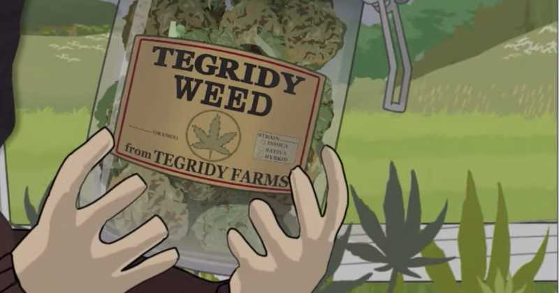 South Park se moque du géant du cannabis MedMen