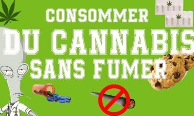 Consommer du cannabis sans fumer