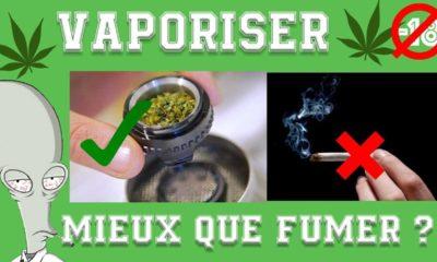 Vaporiser du cannabis