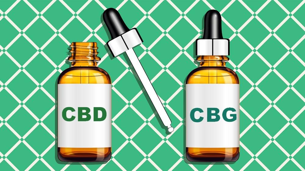 CBD et CBG