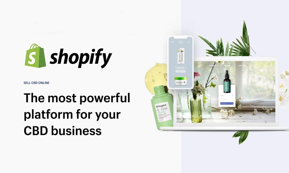 Shopify accueille le CBD