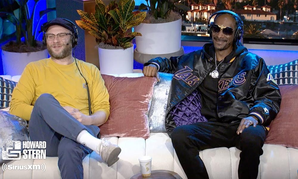 Seth Rogen et Snoop Dogg
