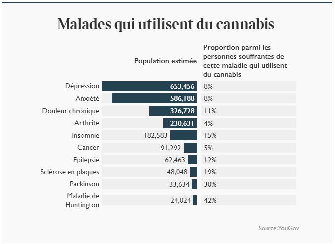 Enquête sur le cannabis médical au UK
