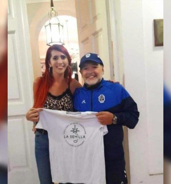 Maradona pour l'autoculture de cannabis
