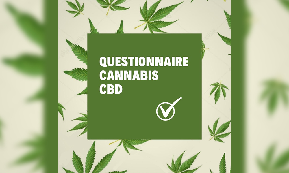 Questionnaire cannabis CBD