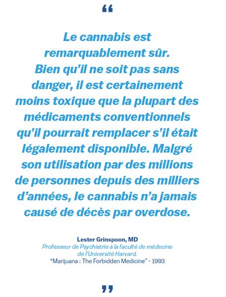 citation du livre blanc sur le cannabis médical