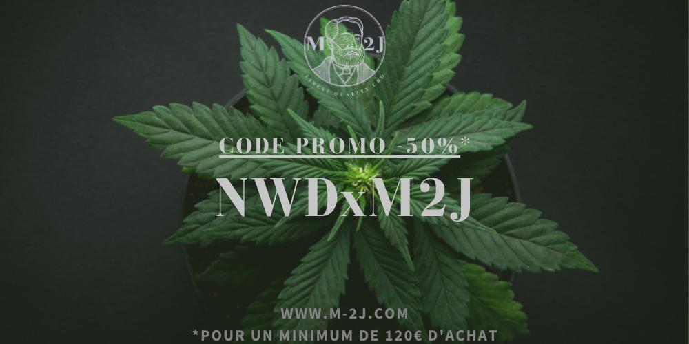 M2J CBD code promo