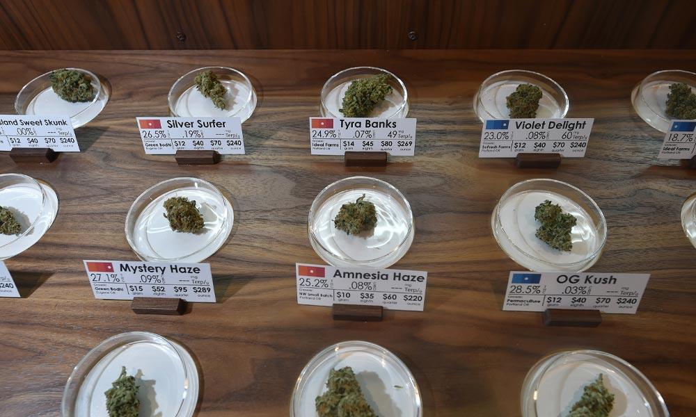 Ventes de cannabis aux Etats-Unis