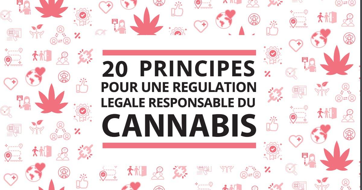 20 principes pour une régulation responsable du cannabis
