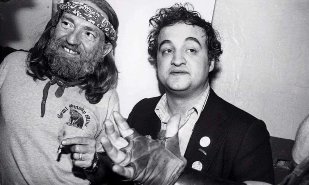 Willie Nelson et John Belushi