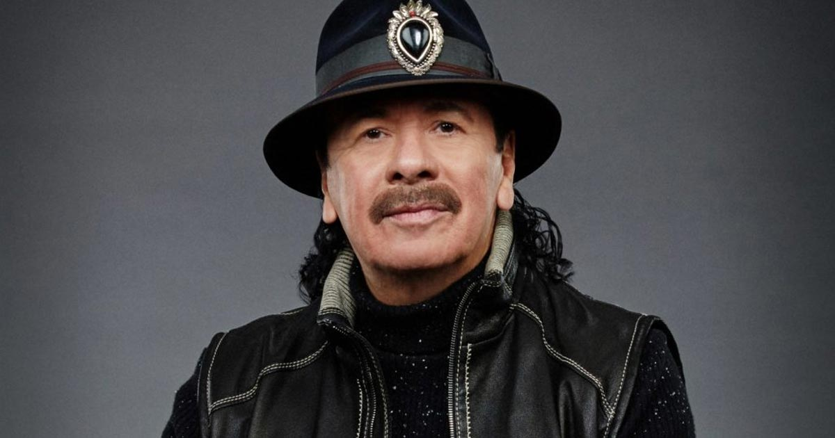 Carlos Santana lance sa marque de cannabis