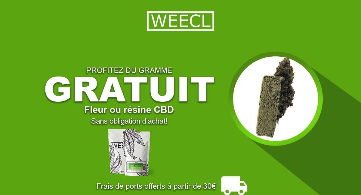 Le gramme gratos de Weecl