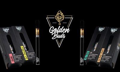Golden Buds, cartouches CBD