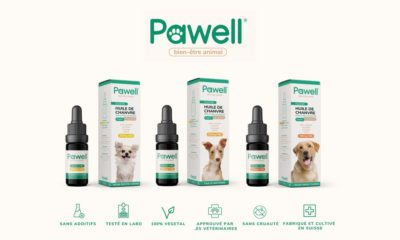 Pawell, du CBD animal