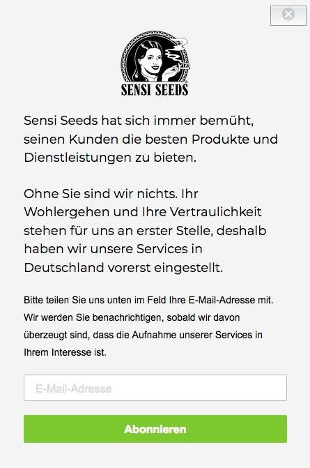 Sensiseeds en Allemagne