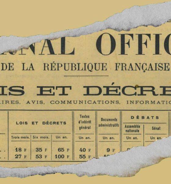 50 ans de prohibition en France