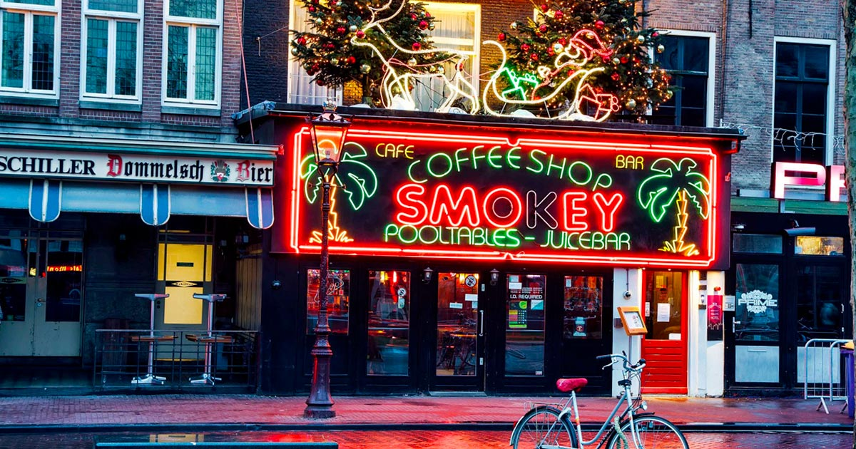 Coffeeshop à Amsterdam