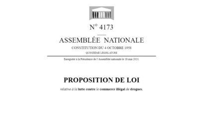 Une proposition de loi pour légaliser le cannabis en France