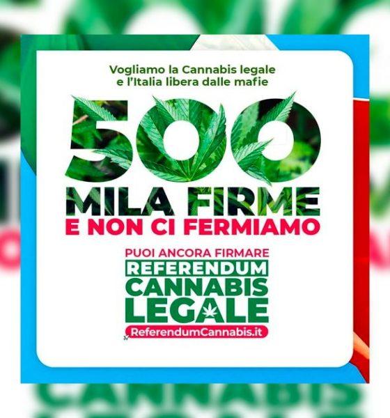 Référendum italien sur le cannabis