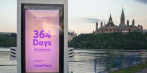 Canada : un panneau de publicité détecte la fumée de cannabis