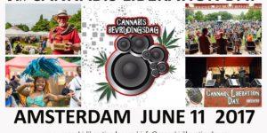 La 9ème édition du Cannabis Liberation Day ce week end à Amsterdam