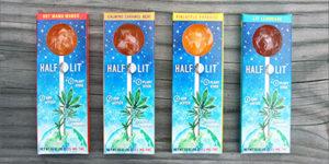 Half Lollipop : La sucette infusée au cannabis avec des graines à l'intérieur