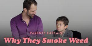 Des parents avouent à leurs enfants qu'ils consomment du cannabis