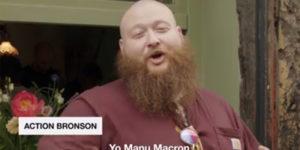 Action Bronson demande à Manu Macron de légaliser le cannabis