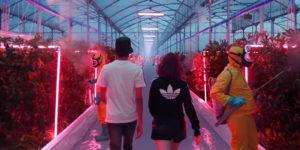 Adidas place une plantation géante de cannabis dans sa pub