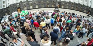 Ukraine : Des manifestants demandent la légalisation du cannabis