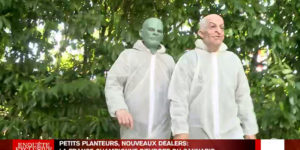 Enquête exclusive Cannabis, interview de Louis de Funes et Fantomas